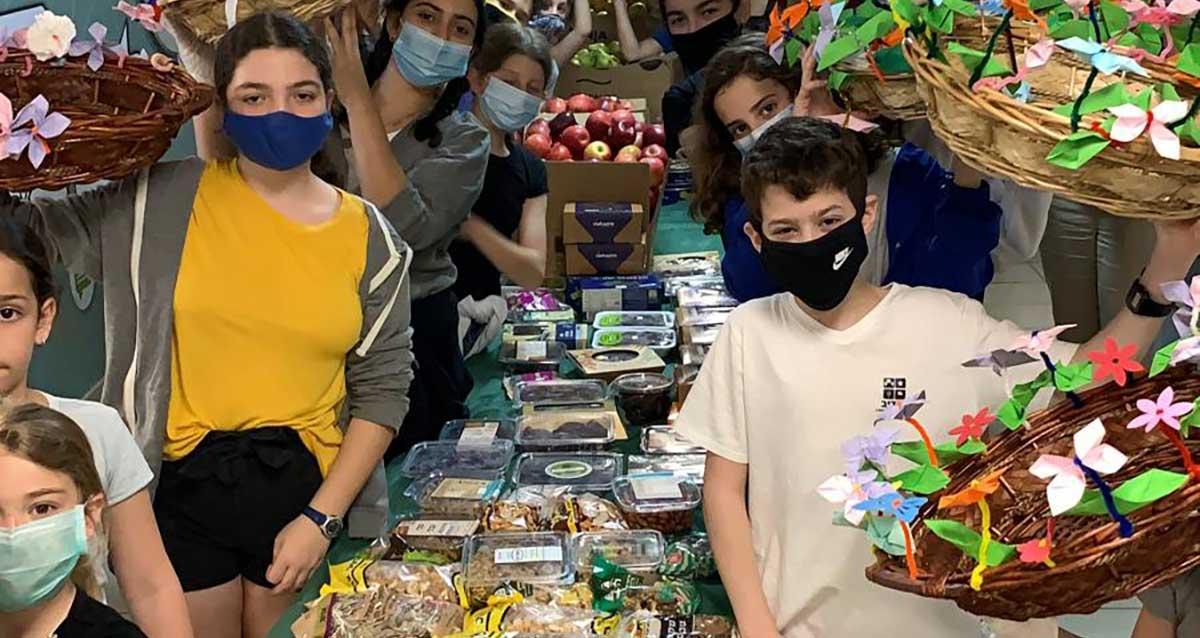 בית ספר הנדיב הרצליה למען חיילים חג שבועות 2020