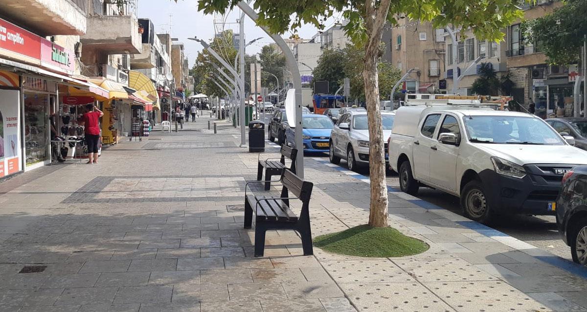 חניה ברחוב סוקולוב הרצליה