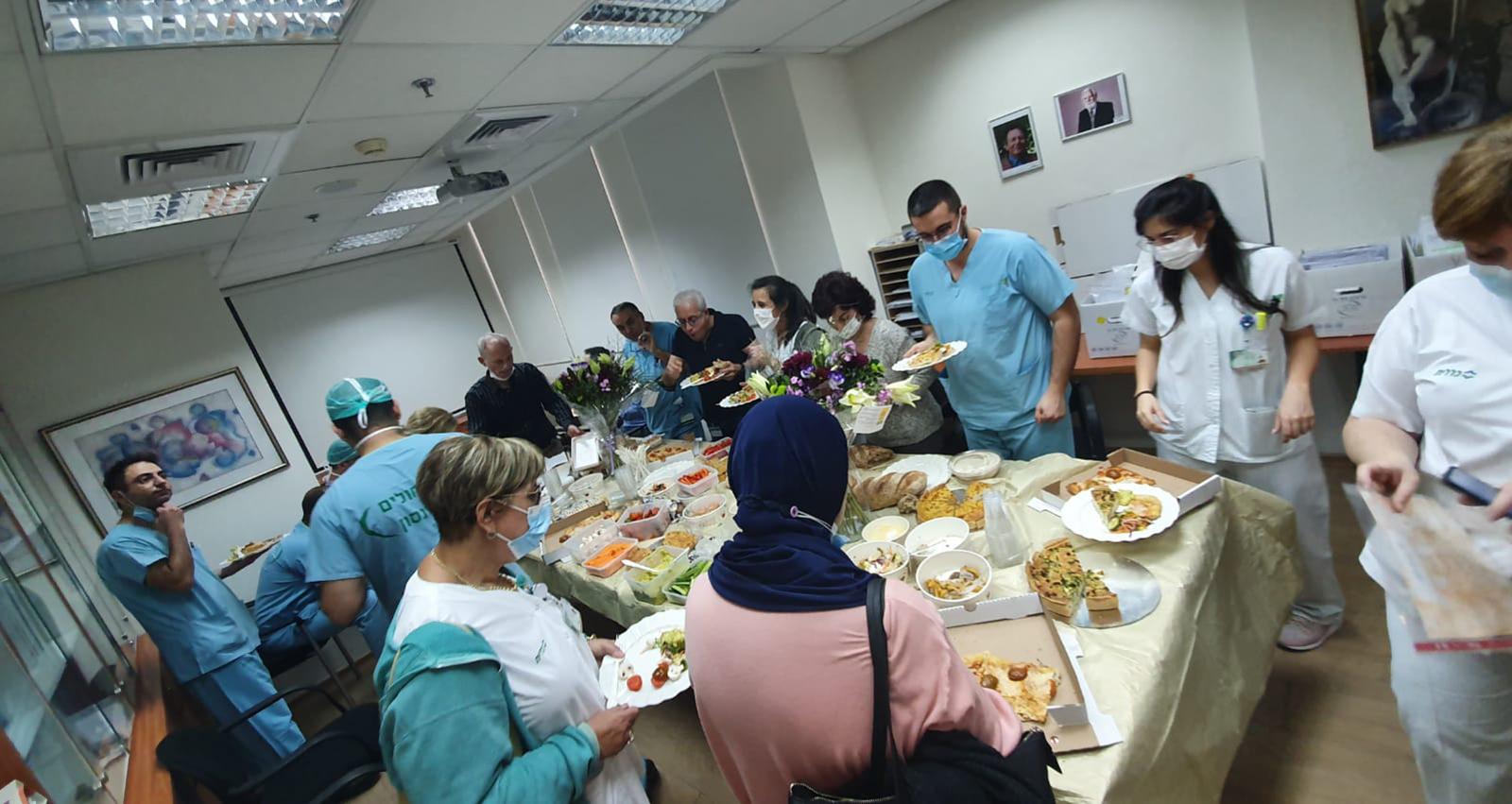 פרוייקט חברתי - חיזוק צוותי הרפואה
