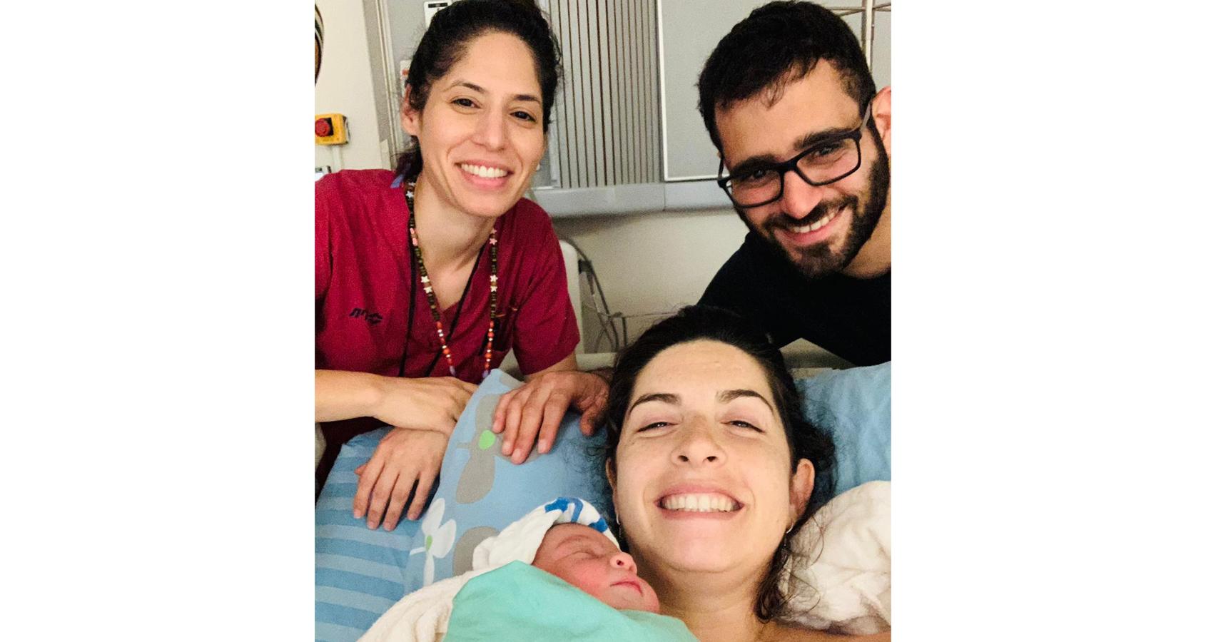 לידת מים ראשונה במרכז הרפואי מאיר