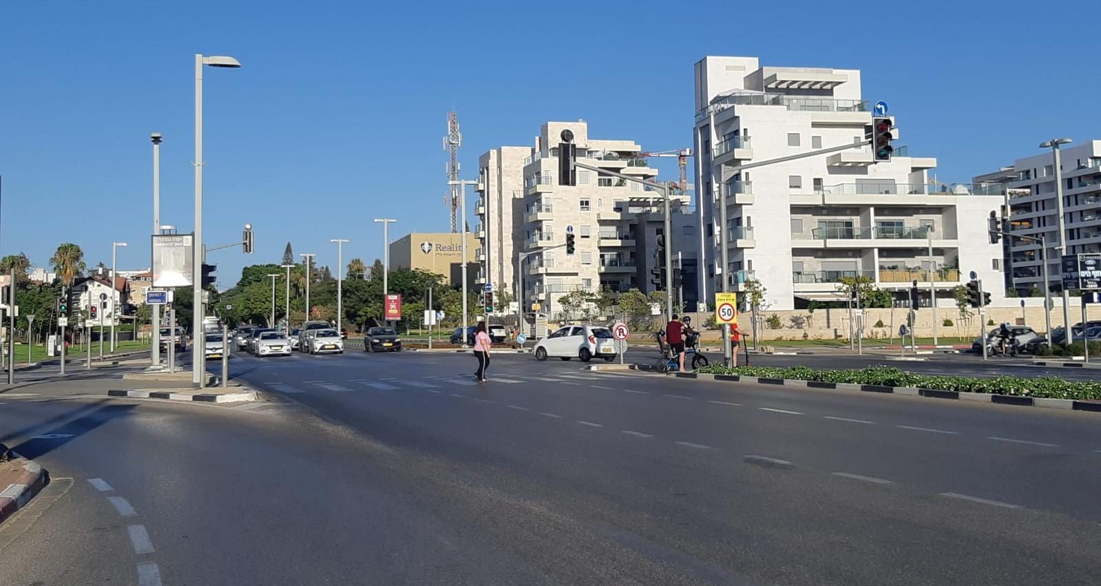 צומת הרב קוק זבוטינסקי הרצליה
