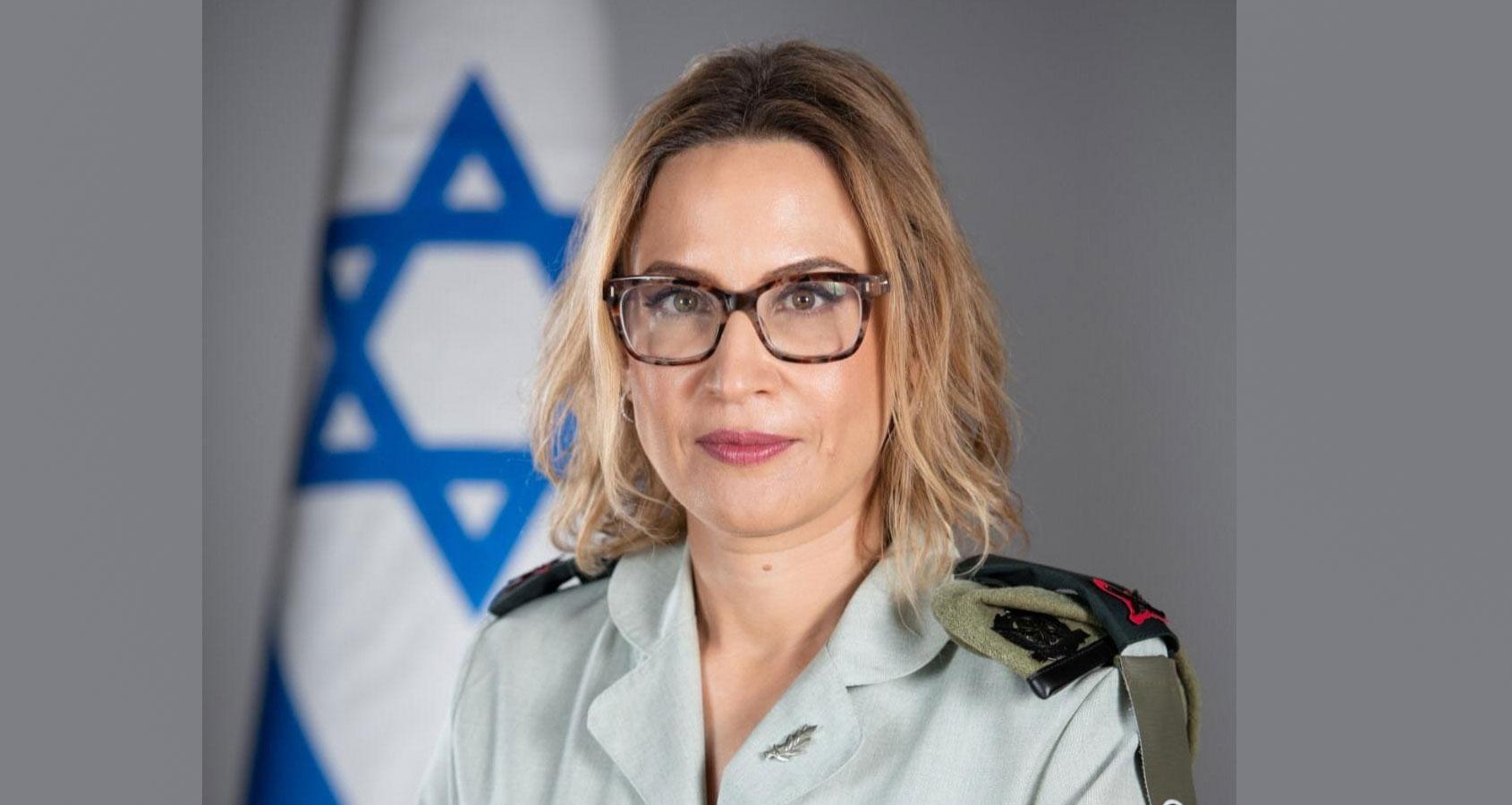 """תא""""ל יפעת תומר ירושלמי. תתמנה לפרקליטה הצבאית הראשית. צילום: דוברות שר הביטחון"""