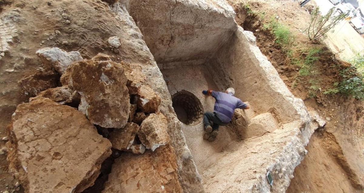 עתיקות באתר בנייה נווה גן צפון רמת השרון